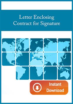 Letter Enclosing Contract for Signature